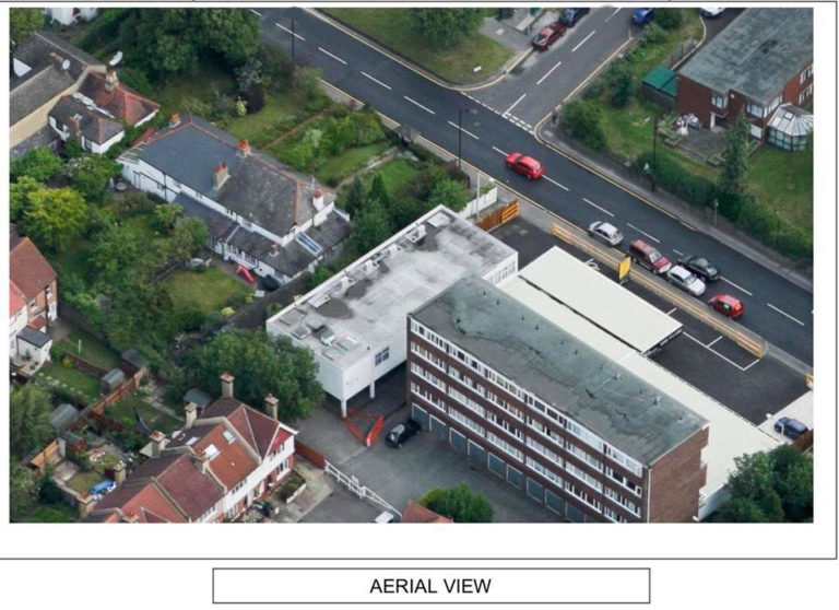 graylaw house wallington aerial view1